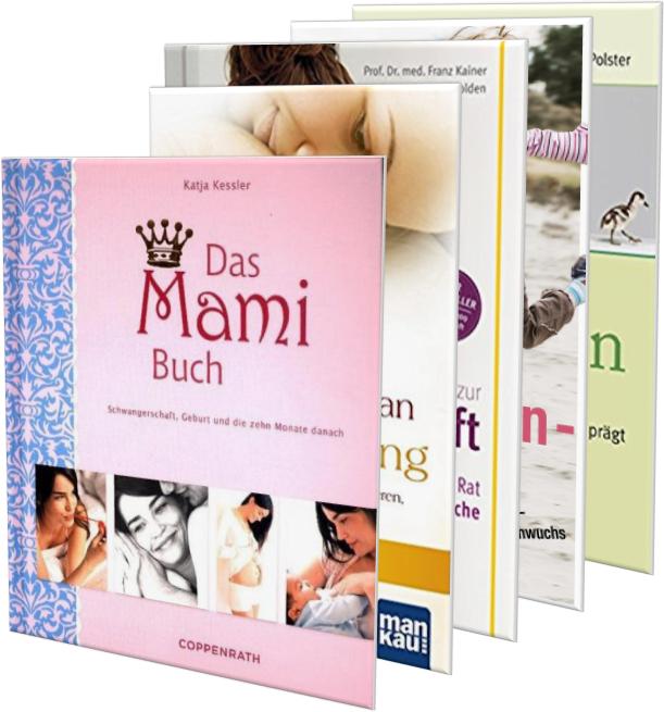 5 gute Bücher für werdende Mütter in 5 Minuten